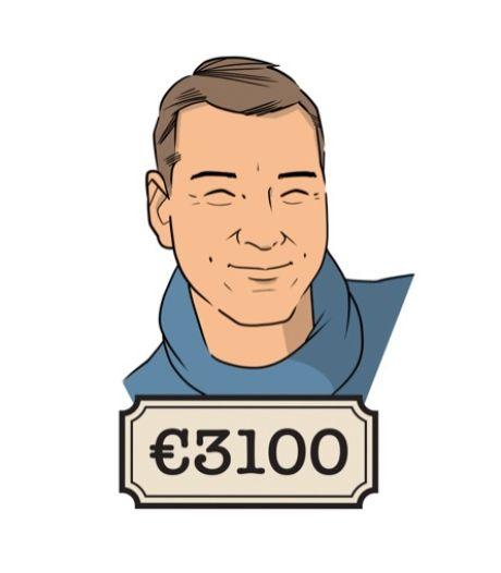'Ik verdien nu 1000 euro bruto meer dan tien jaar geleden. En de groei is er nog niet uit'