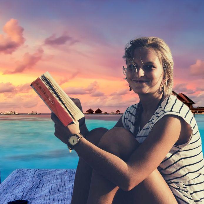 Jasmine Raeymaekers uit Merksplas heeft een boek geschreven over haar ervaringen in Egypte.