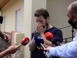 """Hij huilde voor de camera's nadat """"overvallers"""" zijn vrouw (20) hadden vermoord, maar valt door de mand door sporthorloge"""