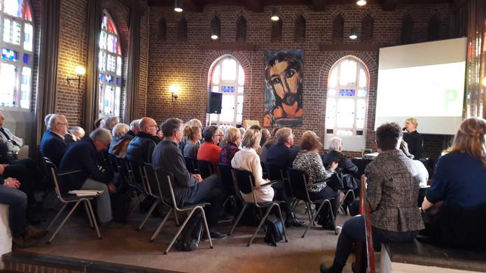 Archieffoto van de tweede Biënnale Kunst in de Heilige Driehoek in Oosterhout uit 2019.