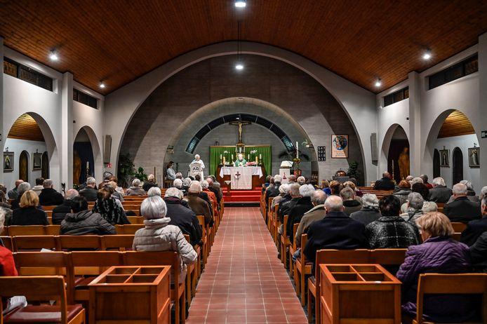 Misvieringen in het kerkje van den Briel zullen vanaf januari niet meer mogelijk zijn.