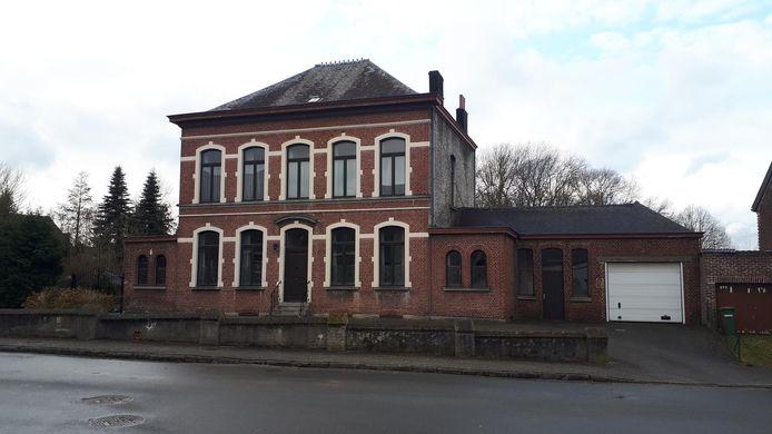De oude pastorie van Sint-Maria-Oudenhove.