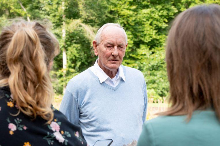 Informateur Johan Remkes zaterdag 18 september op landgoed De Zwaluwenberg waar de heisessie plaatsvond.  Beeld Brunopress