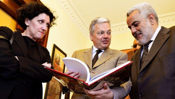 De blik van minister Turtelboom spreekt boekdelen.