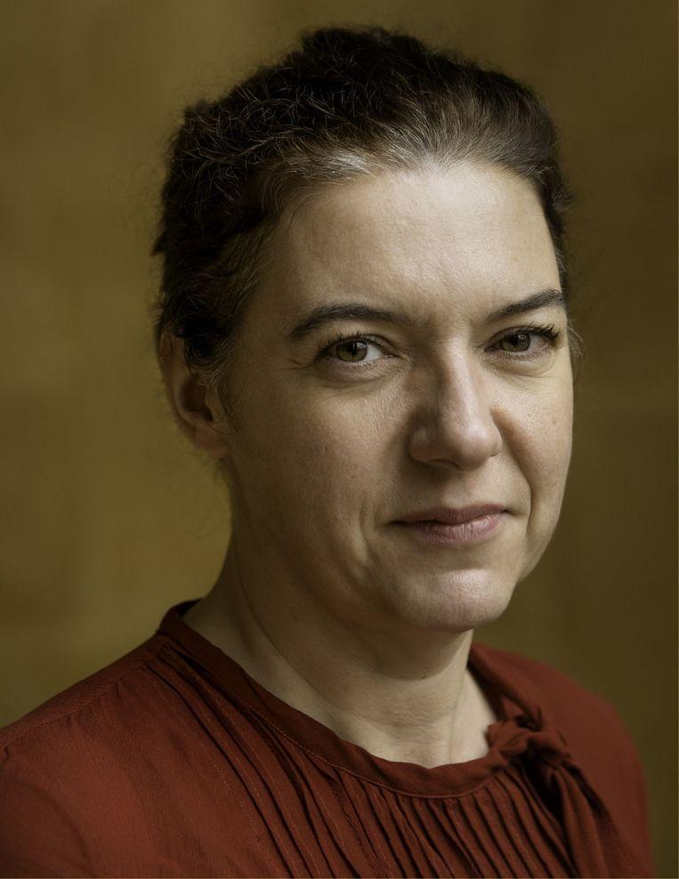 Valerie Trouet: 'Zonder goed leiderschap zullen we nergens geraken.' Beeld