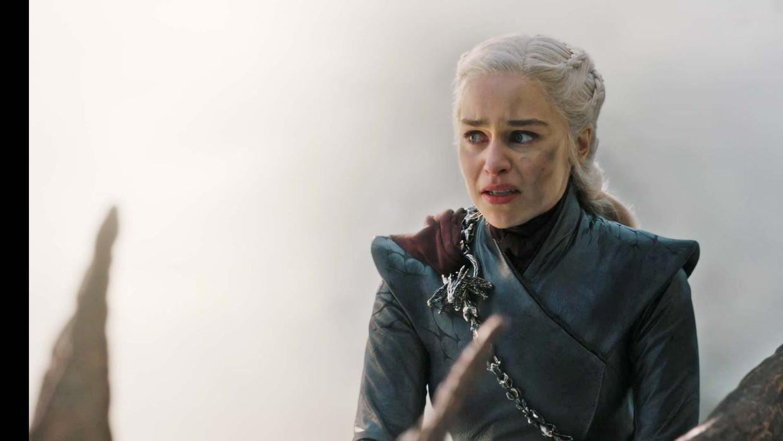 Daenerys Targaryen in aflevering 5.  Beeld Still uit Game of Thrones