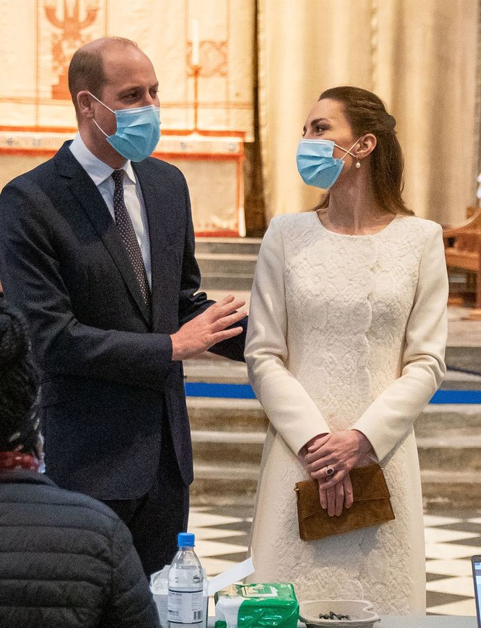 Kate en haar echtgenoot, prins William.