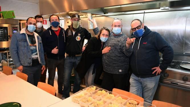 """Leuvense horeca kookt nog een laatste keer bij Poverello: """"Het was –helaas- een groot succes"""""""
