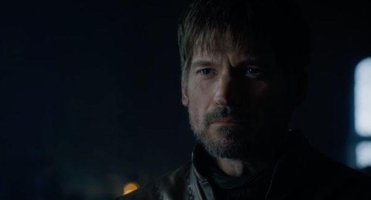 Jaime bevindt zich in een kamer vol vijanden.