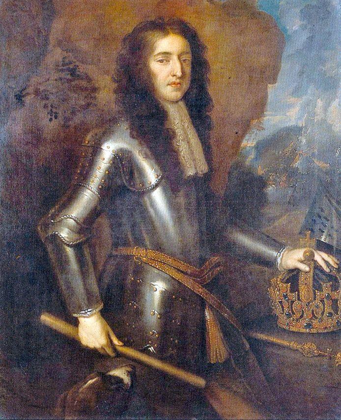 Portret van stadhouder Willem III.