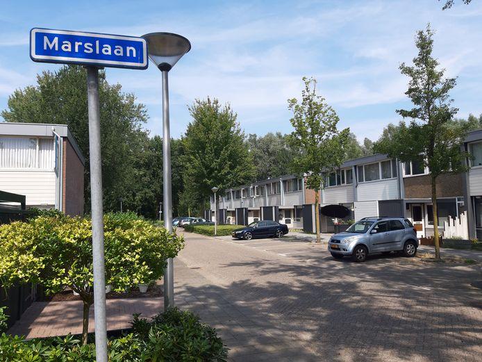 De Marslaan in Helmond-Noord, waar Manon Seijkens tot haar verdwijning in 1995 woonde.