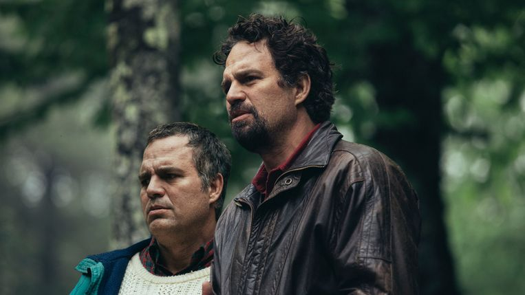 Scène uit 'I Know This Much Is True', met tweemaal Mark Ruffalo.  Beeld rv