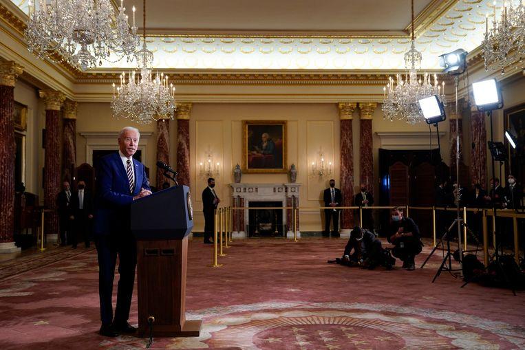 President Joe Biden Beeld AP