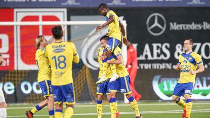 VIDEO: STVV en Eupen verwennen fans  met zeven doelpunten in één helft en twee prachtige pegels