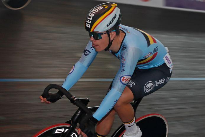 In de ploegkoers kon Gianluca Pollefliet zich aan de zijde van Noah Vandenbranden doorzetten.