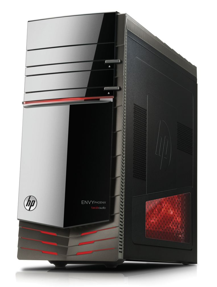 Hewlett-Packard hield zich traditioneel altijd ver weg van specifieke pc's voor gamers, maar lanceerde onlangs zelf zijn eigen HP Envy Phoenix-gaming-pc. Beeld Hewlett-Packard