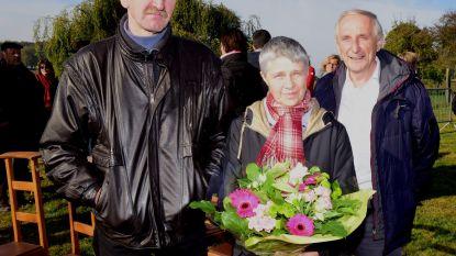 Dirk en Maria kregen een bloemetje