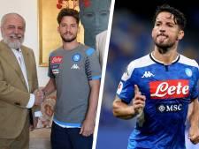Dries Mertens prolonge à Naples jusqu'en 2022