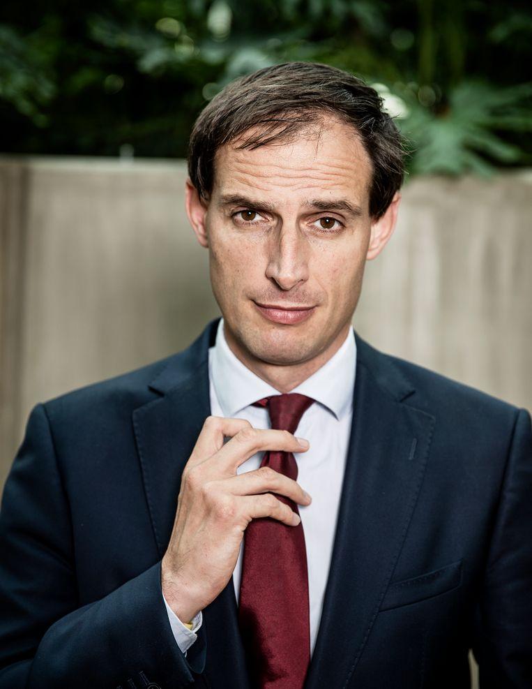 Wopke Bastiaan Hoekstra (Bennekom, 30 september 1975) is een Nederlands politicus voor het CDA. Sinds 26 oktober 2017 is hij minister van Financiën in het kabinet-Rutte III. Beeld Jiri Buller