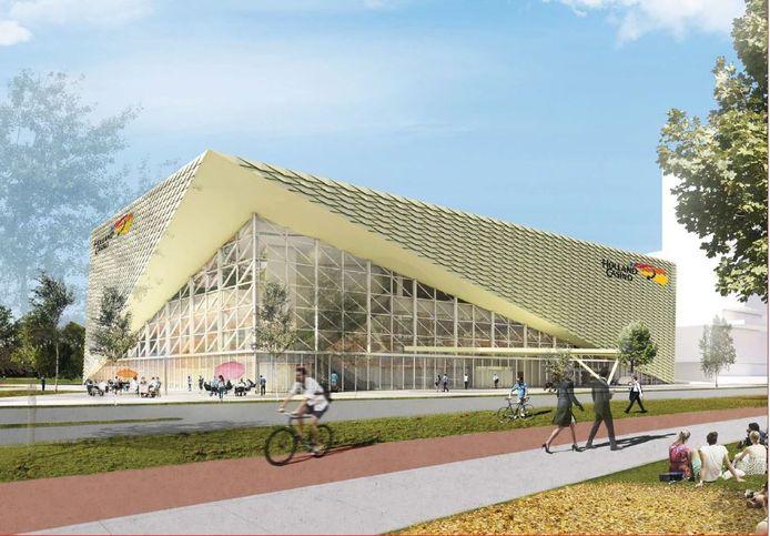 Het nieuwe Holland Casino aan de Winthonlaan