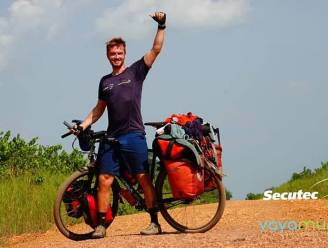 Niet roeien maar wel zeilen over Atlantische Oceaan, maar eerst fietst Jelle nog even naar Kilimanjaro