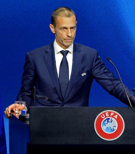 UEFA-baas Ceferin ziet 'Final Four' in CL zitten: 'Meer geld en spanning'