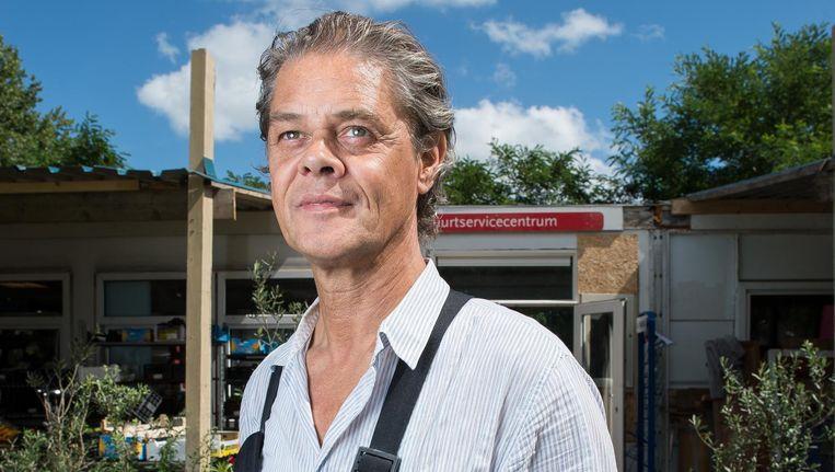 Peter Gualterus van buurtcentrum Blije Buren. Beeld Mats van Soolingen