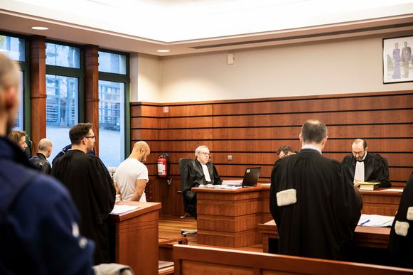 Aanklager Cedric Stuyck vorderde celstraffen tot 20 jaar voor de strafrechtbank in Tongeren.