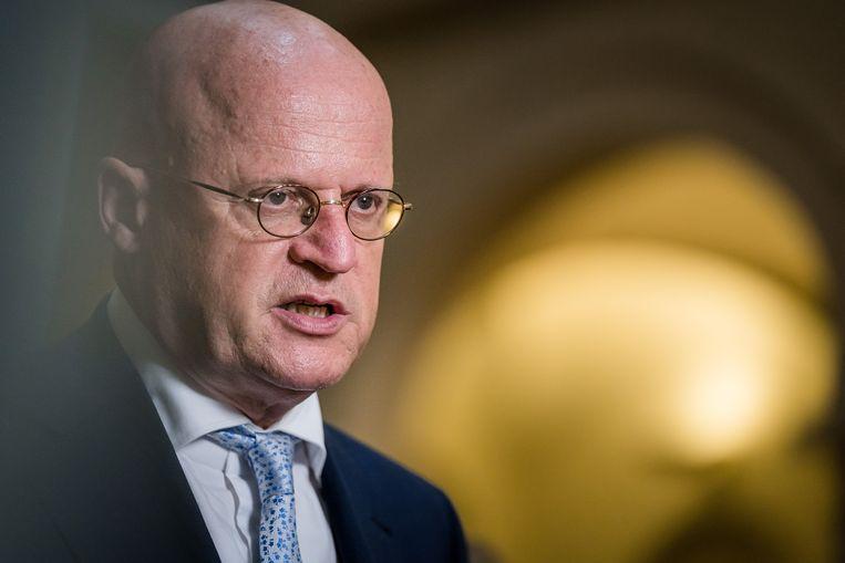 Demissionair Minister Ferd Grapperhaus van Justitie en Veiligheid.  Beeld ANP - Bart Maat