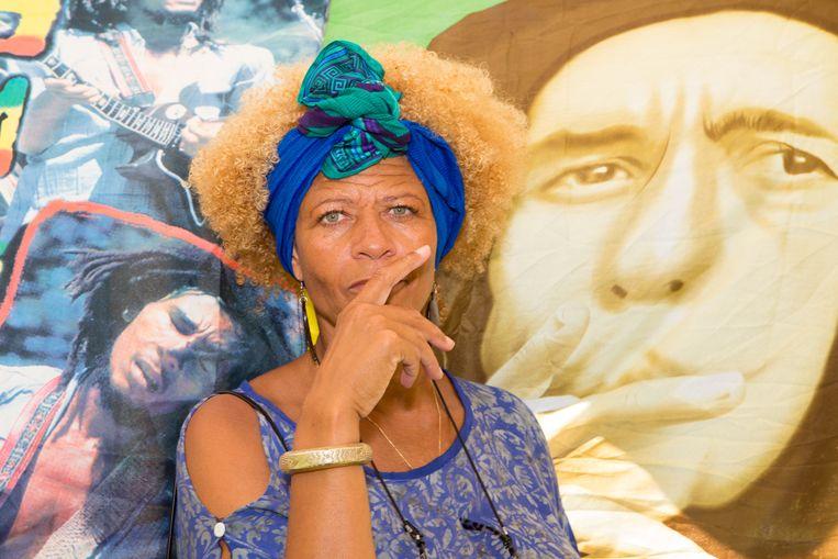 Etchica Voorn: 'Ik heb het boek nooit als statement bedoeld, maar dat is het toch geworden.' Beeld Liesbeth Paardekooper