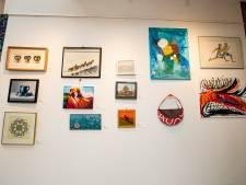 Pikante schilderkunst en fijn glaswerk in etalages Holten: de EtalageKunstRoute is er weer
