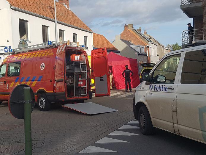 Het incident gebeurde in de Lichterveldestraat.