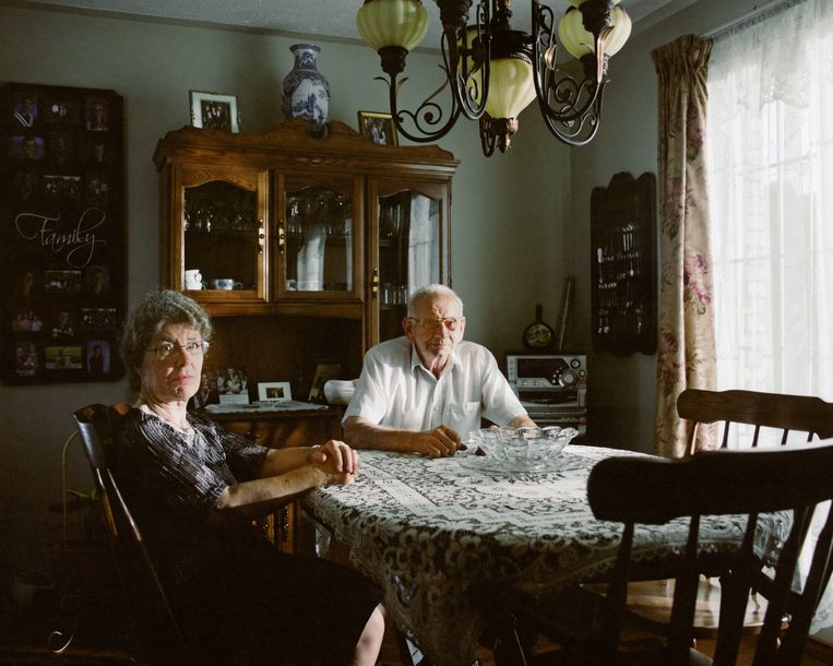 Shona Kersten en haar man Peter Vanderwal. Beeld Frank Castelein
