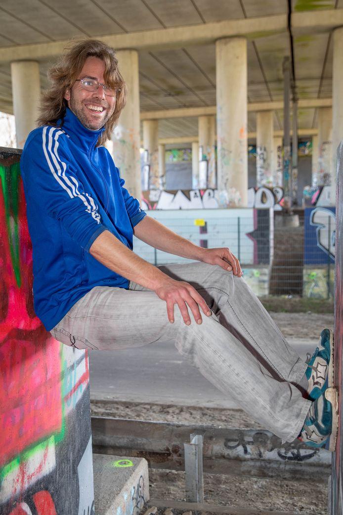 Matijs Gerrits, jongeren- en opbouwwerker in Goes.