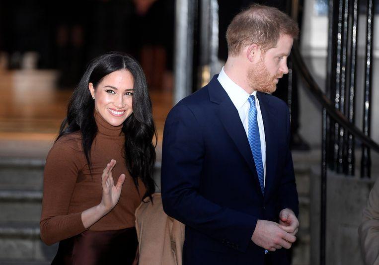Harry en zijn vrouw Meghan.