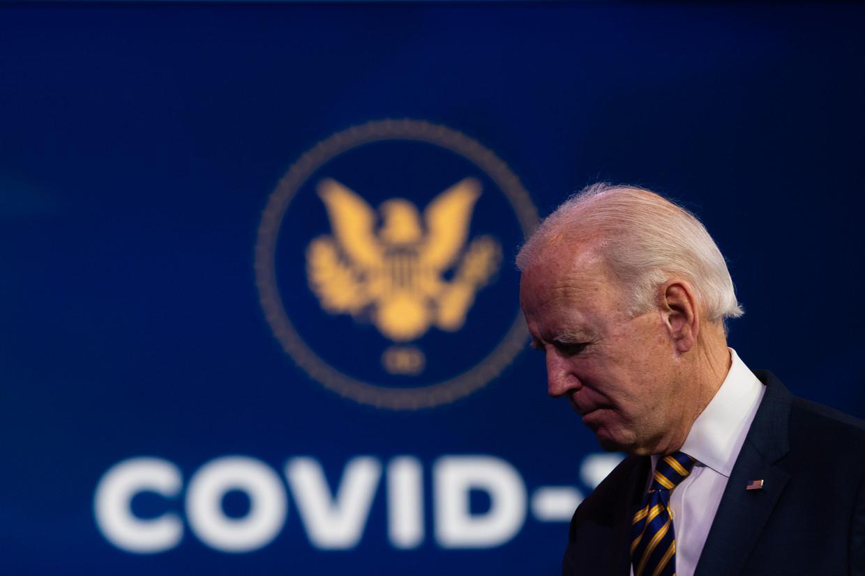 Toekomstig president Joe Biden dikt regelmatig zijn verleden aan. Zo zou een ontmoeting met de vroegere Sovjet-leider Leonid Brezjnev nooit hebben plaatsgevonden. Beeld Getty Images