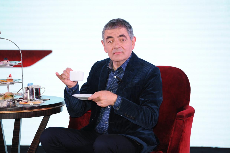 Rowan Atkinson wordt vandaag 65 Beeld Getty Images