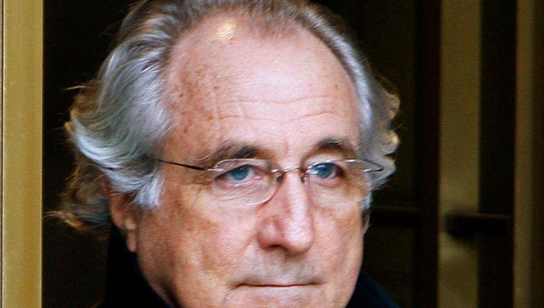 Archiefbeeld van oplichter Bernard Madoff in 2009. Beeld REUTERS