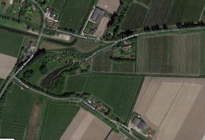 De Grintdijk bij Oudelande.