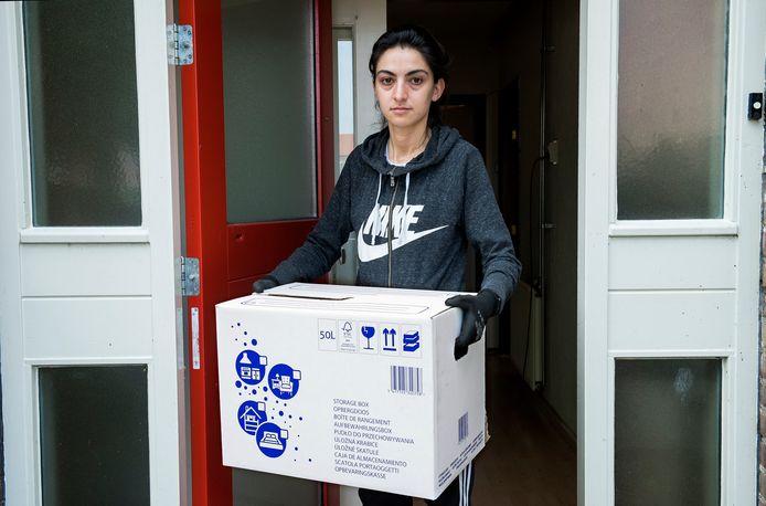 Tansu Sevilmis (29) moet na 27 jaar haar huurwoning uit van GroenWest.