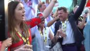 Heerlijke beelden: de ontlading bij vrouw en ouders van Ewan na sprintzege in Parijs