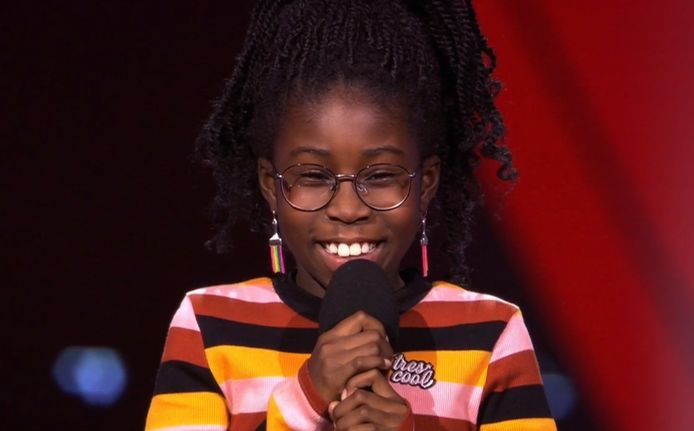 Jenai bij The Voice Kids.