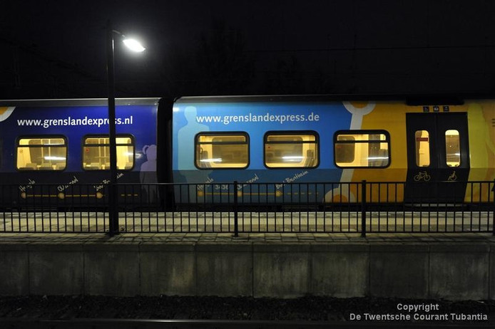 De Grensland Express stopt op 8 december 2013.