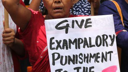 Doodstraf voor verkrachters van achtjarig meisje in India