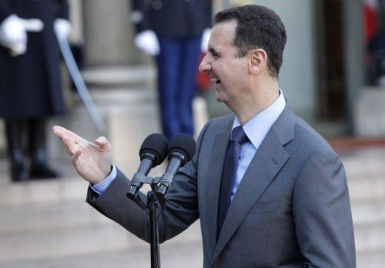 De Syrische president Al-Assad. EPA Beeld
