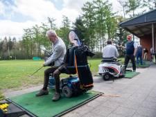 Kennismaken met paragolf op de golfbaan in Ommen