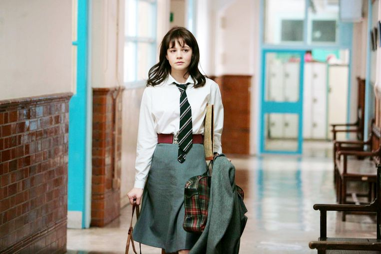 Carey Mulligan in 'An Education'. Beeld
