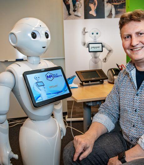 Niet de arts, maar robot Pepper vraagt of u last van diarree hebt
