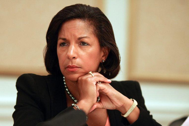De Amerikaanse VN-ambassadrice Susan Rice. Beeld getty