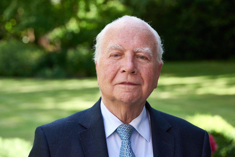 Mark Eyskens bleef aan na de affaire-Khaled in 1991. Beeld Photo News